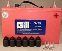 Gill G-35 Aircraft Battery