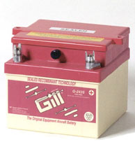Gill G-243S Sealed Lead Acid Aircraft Battery