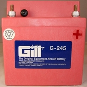 Gill G-245 Aircraft Battery