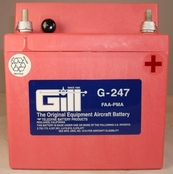 Gill G-247 Aircraft Battery