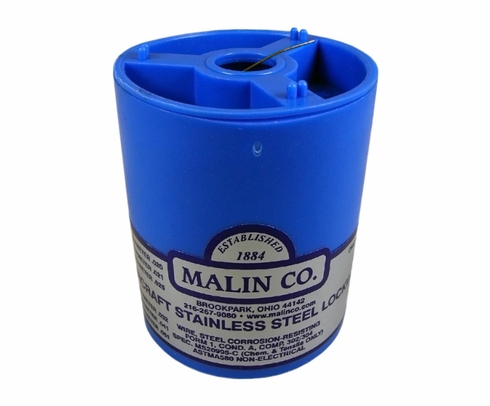 Military Standard MS20995C25 Stainless Steel Safety Wire (1 lb. Roll) - 0.025 Diameter