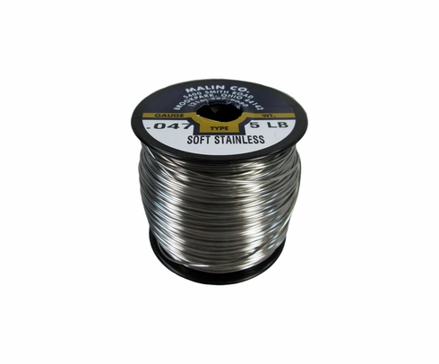 Military Standard MS20995C47 Stainless Steel 0.047 Diameter Safety Wire - 5 lb Roll