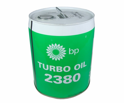 Eastman Turbo Oil 2380 Clear MIL-PRF-23699 Spec Aircraft Turbine Engine Lubricating Oil - 5 Gallon (18.42 Kg) Steel Pail