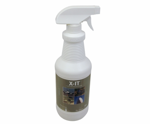 Pantheon 080-1228 X-IT� Carbon Remover & Cleaner/Degreaser - Quart Bottle
