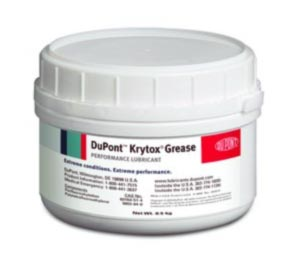 Chemours™ Krytox™ 240 AC White Aircraft Instrument, Fuel & Oxidizer Resistant Grease - 1.76 lb Cartridge