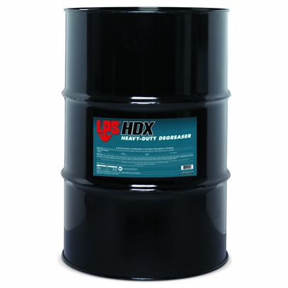 LPS� 01055 HDX Light Brown Heavy-Duty Solvent Degreaser - 55 Gallon Steel Drum