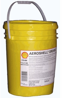 AeroShell Grease 64 (formerly 33MS) Extreme Pressure Grease - 17 Kg (37.5 lb) Plastic Pail