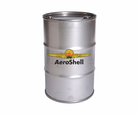 AeroShell W100 Plus SAE Grade 50 Ashless Dispersant Aircraft Oil - 55 Gallon Drum