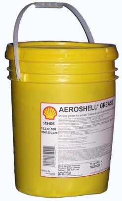 AeroShell� Grease 5 High-Temperature Mineral Aircraft Grease - 17 Kg (37.5 lb) Plastic Pail