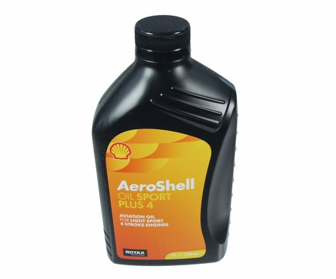 AeroShell Oil Sport PLUS 4 Light Sport Aircraft Oil - Liter Bottle