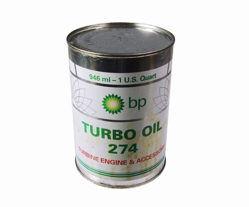 Eastman BP Turbo Oil 274 Clear DEF STAN91-98 Spec Turbine Engine Lubricating Oil - Quart (946 mL) Can