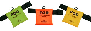 "Seitz Scientific FOD-1 Fluorescent Orange FOD Bag with 58"" Belt"
