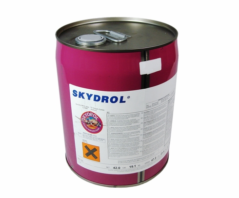 Eastman Skydrol� 5 Purple BMS3-11P Type V, Grade B & C Spec Fire Resistant Hydraulic Fluid - 18.50 Kg (5 Gallon) Pail