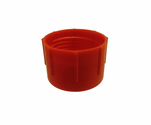 Caplug CD-12 Red 1-1/16-12 Threaded Plastic Dust & Moisture Cap