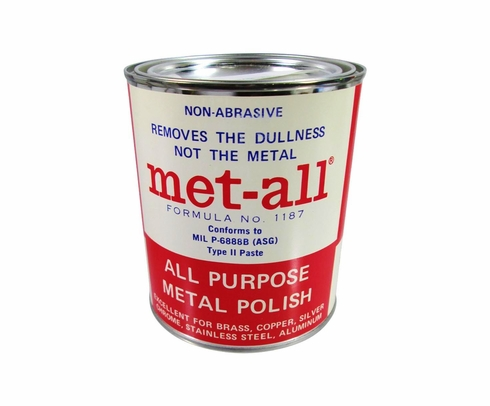 Met-All AP-20 All Purpose Polish - 32 oz Can