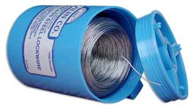 Military Standard MS20995C15 Stainless Steel 0.015 Diameter Safety Wire - 2 lb Roll