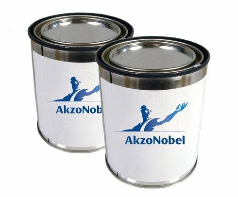 AkzoNobel 8W5/50C3 Off-White Polyurethane Filling Surfacer - 2-Part 1.25 Gallon Kit