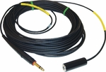 David Clark 22397G-05 Model C31-50 Black 50' Straight Cord GSE Headset Extension
