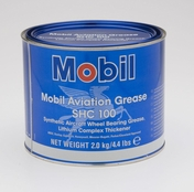 Exxon Mobil MobilGrease SHC 100 Synthetic Aircraft Wheel Bearing Grease