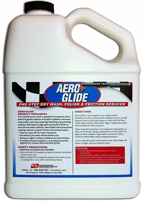 Corrosion Technologies 65301 Aero-Glide One-Step Waterless Dry Wash - 55 Gallon Drum
