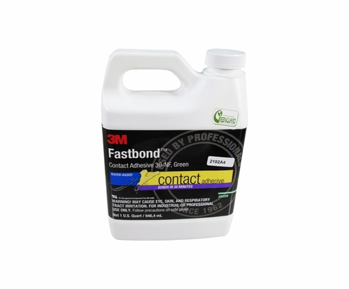 3M� 021200-21185 Fastbond�  30NF Green Contact Adhesive - Quart Bottle