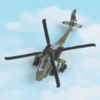 Military Helicopter Diecast Model Aircraft