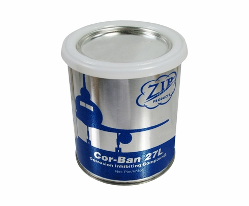 Zip Chem 009404 Cor-Ban 27L Tan Corrosion Inhibiting Compound - Pint Can