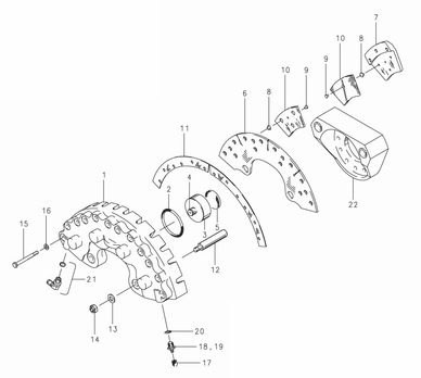 Cleveland 30 131 Brake Assembly Parts List From Skygeekcom