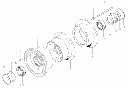 Cleveland 40-47 Wheel Assembly Parts List