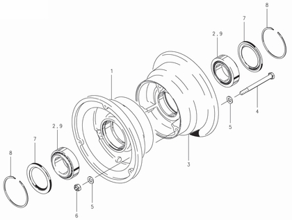 Cleveland 40-56C Wheel Assembly Parts List