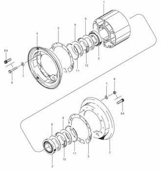Cleveland C-30174-1 Wheel Assembly Parts List