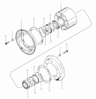 Cleveland C-30179 Wheel Assembly Parts List