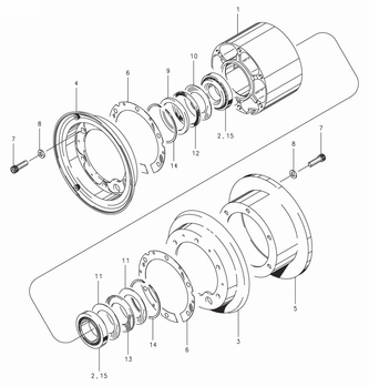 Cleveland D-30291-2 Wheel Assembly Parts List