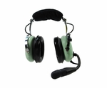 David Clark H10-20 Mono 5-Foot Straight Cord Aircraft Headset