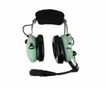 David Clark H10-60C Mono 5-Foot Coil Cord Aircraft Headset