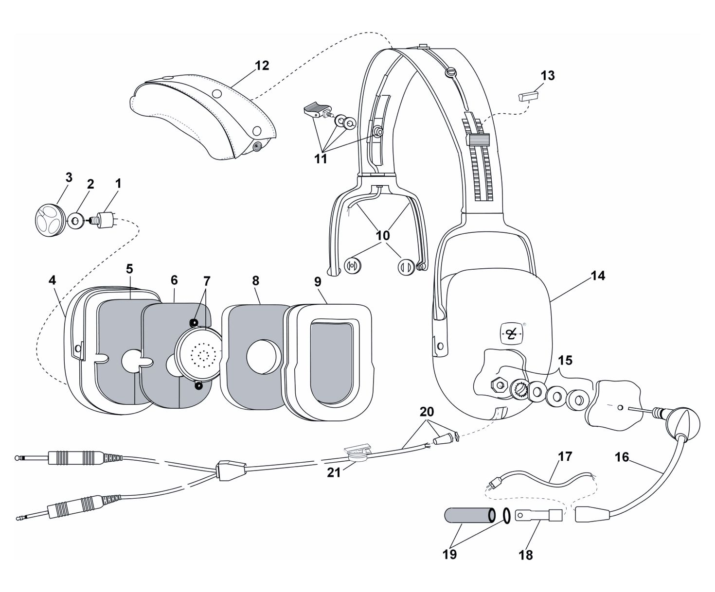 David Clark Headset Diagram - All Diagram Schematics on