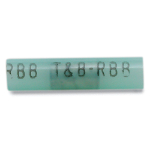 Thomas & Betts RBB21 Insulated Nylon Butt Splice Connector - 1000PK - Wire Range 16-14 - Length 1.19 - Diameter .21 - Blue