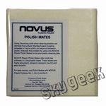 NOVUS 7069 Polish Mate Polishing Cloths - 6 Cloth/Pack