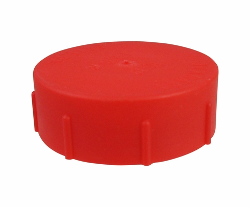 Caplug CD-TC-19 Red 1-3/8-18 Threaded Plastic Dust & Moisture Cap