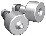 """Aircraft Tool Supply 7074DP Dimple Punch & Die Set - 1/8"""" - For AN426 Diameter Rivets"""