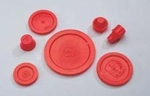 PPG Aerospace® Semco® 234411 Red TC-seal Threaded Cap