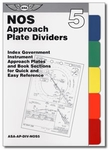Aviation Supplies & Academics ASA-AP-DIV-NOS5 NACO Approach Plate Color Dividers