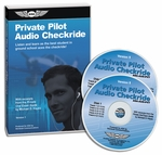 Aviation Supplies & Academics ASA-AUD-PVT Private Pilot Airplane Audio CD-ROM Checkride