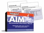 Aviation Supplies & Academics ASA-CARDS-AIM-3 FAR/AIM Flashcard Study Guides