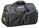 Aviation Supplies & Academics ASA-BAG-CARGO AirClassics� Black 600D Polyester Cargo Flight Bag