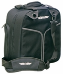 Aviation Supplies & Academics ASA-BAG-CRM AirClassics™ Black 600D Polyester CRM Flight Bag