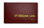 Aviation Supplies & Academics ASA-SE-2 Red Hardcover Engine Log Book