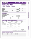 Aviation Supplies & Academics ASA-SFR-H3 Helicopter Student Flight Records
