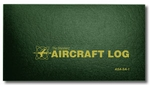 Aviation Supplies & Academics ASA-SA-1 Green Soft Cover Aircraft Logbook
