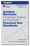 Aviation Supplies & Academics ASA-8081-AMT-4 AMT for General, Airframe & Powerplant Practical Test Standards Book